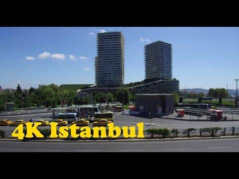Walk around Istanbul 4K. Istiklal - Nişantaşı - Şişli - Sapphire.