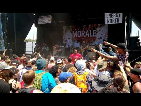 The Color Morale -  Smoke and Mirrors (Vans Warped Tour 2016, ATL)