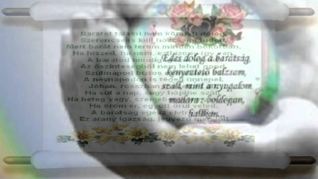 barátságról versek idézetek Szép idézetek BARÁTSÁGRÓL   YouTube