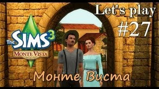 LP / Давай играть The Sims 3 Monte Vista #27 Рыба это чудо!