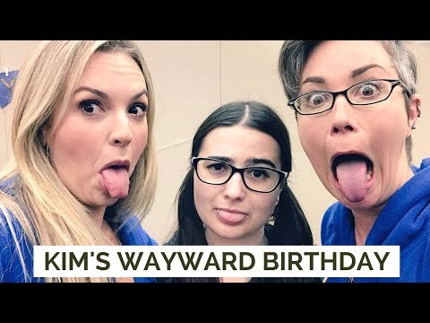 Throwing Kim Rhodes A Wayward Birthday Party  Supernatural Pittsburgh Thursday Vlog
