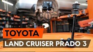 Comment remplacer une biellette de barre stabilisatrice arrière sur TOYOTA LAND CRUISER PRADO 3