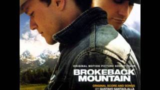 "Brokeback Mountain: Original Motion Picture Soundtrack - #11: ""I Will Never Let You Go"""