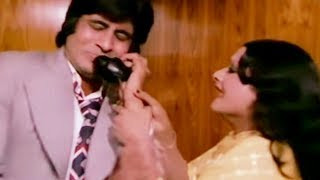 Rekha gets to know the truth about Amitabh Bachchan | Do Anjaane | Bollywood Scene 28/31
