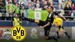 Alcacer scores beautifully! | Seattle Sounders FC vs. BVB 1-3 | Highlights