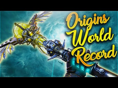 Origins 2 Player Easter Egg Speedrun World Record! (48:55) Call of Duty Black Ops 3 Zombies Origins