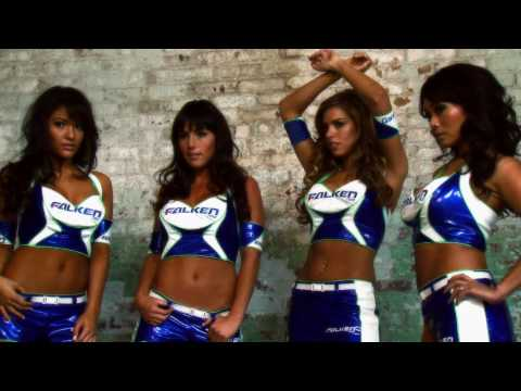The 2010 Falken Tire Model Poster Photoshoot