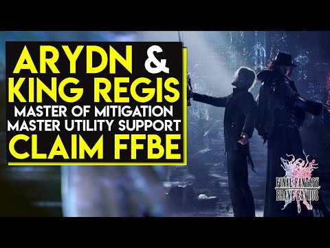 THE WALL KING SUPPORT - King Regis & Ardyn - Final Fantasy Brave Exvius