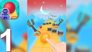 Rolling Sky - Gameplay Walkthrough Part 1 (Android, iOS Gameplay)