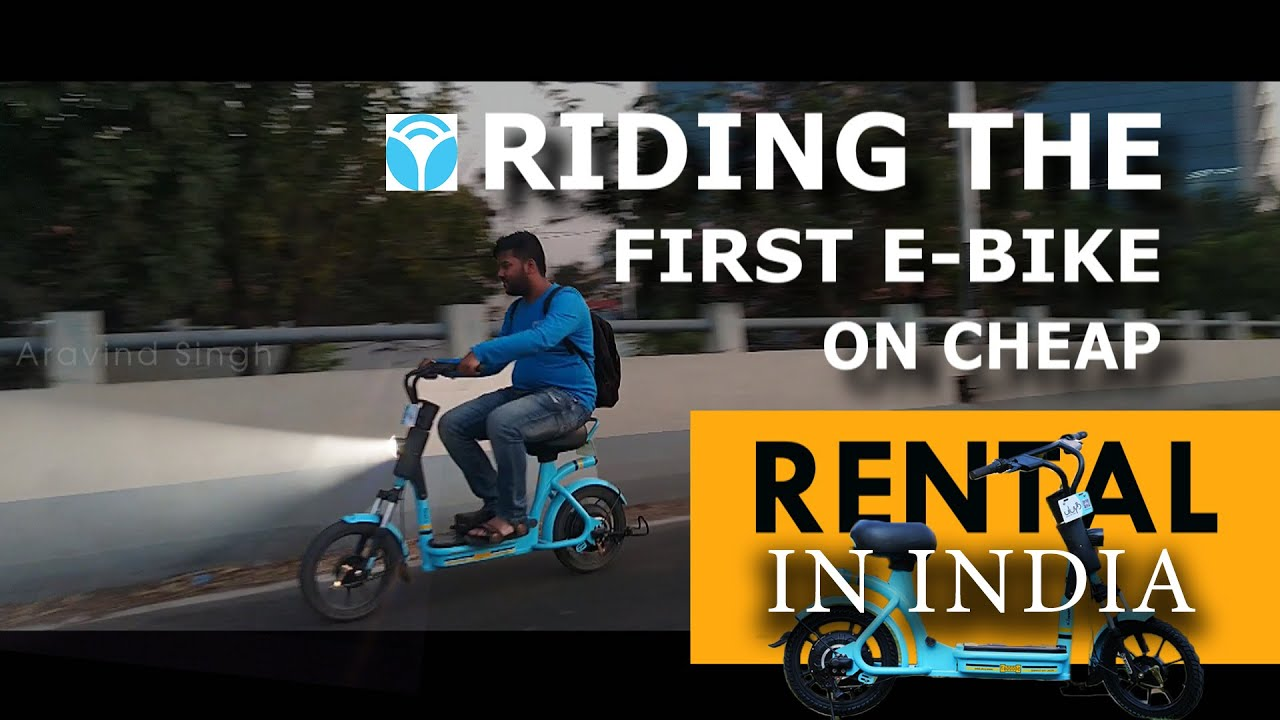 Yulu Miracle First Electric Bike Ride In Bangalore Yulu E Bike