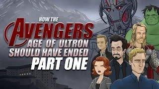 Como Debio Terminar:Los Vengadores La Era de Ultron(Parte 1)Español Latino Fandub