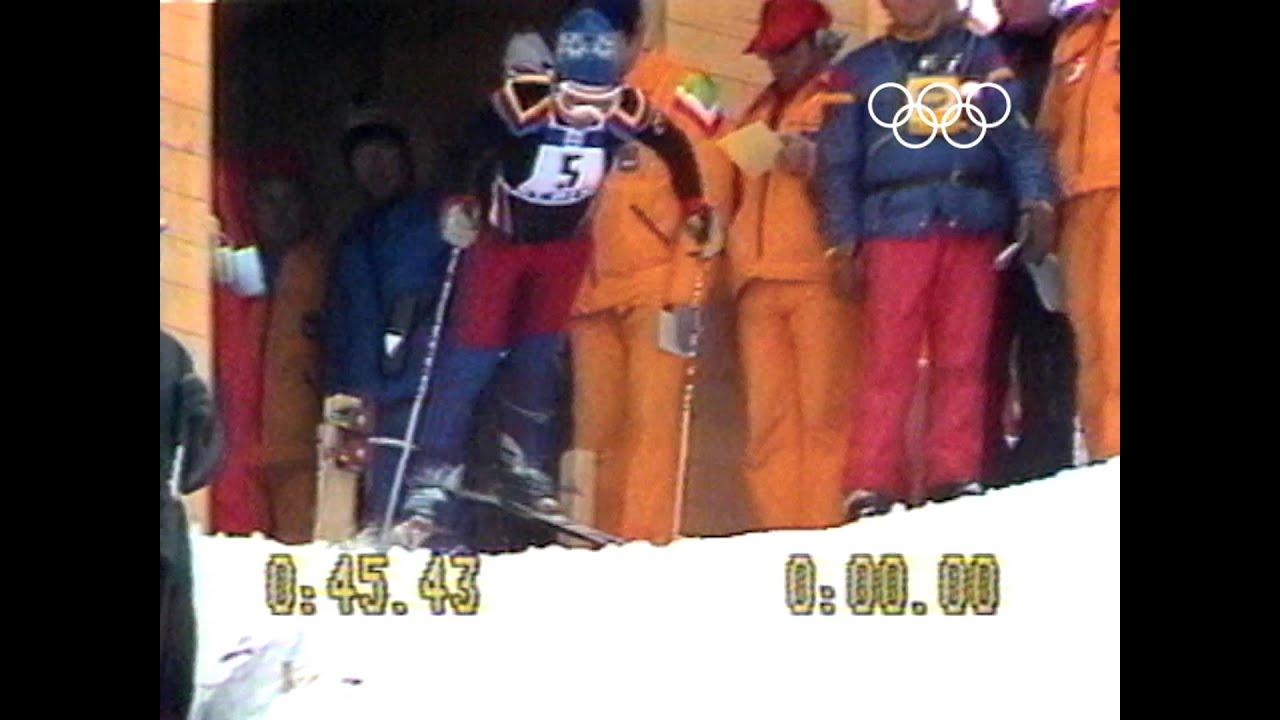 Underdog Rosi Mittermaier Amazing Ski Gold - 1976 Innsbruck Winter Olympics