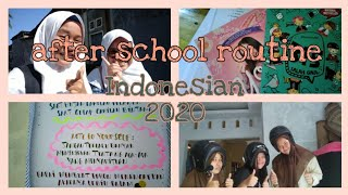 After school routine Indonesia ?//2020