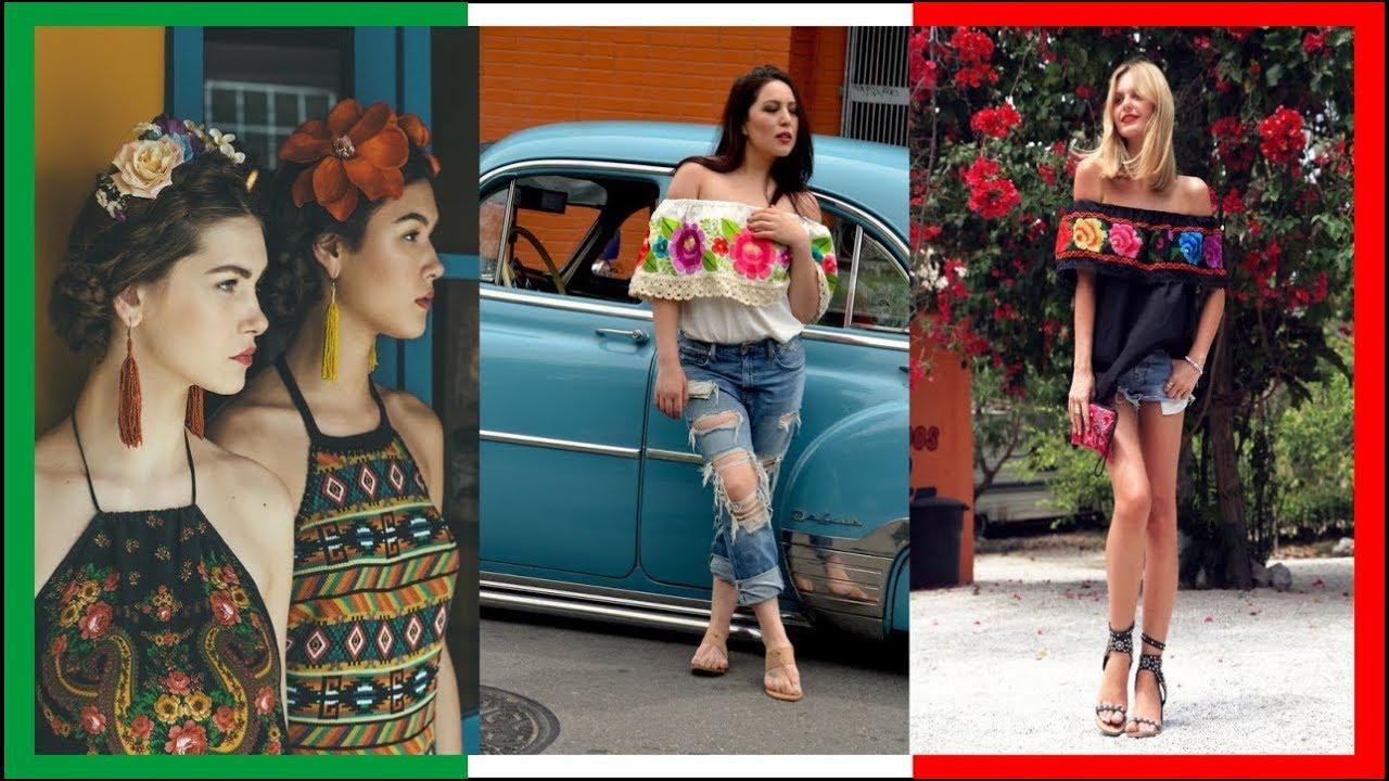 Outfit Para Vestirse Bien En Fiesta Mexicana De Mujer 2019