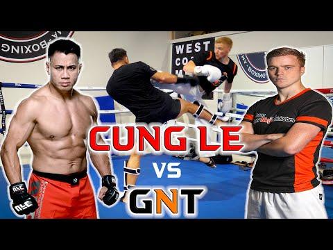 GNT FIGHTS MMA LEGEND | GNT vs Cung Le Sparring
