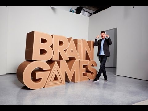 Brain games a tricky fear game - YouTube