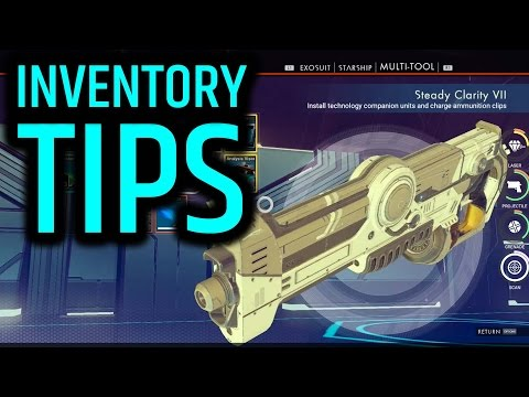 INVENTORY MANAGEMENT!! - No Man's Sky Tips and Tricks