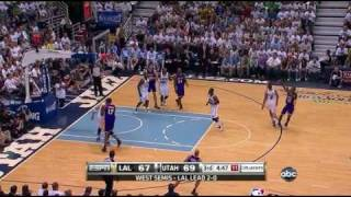 2010 Playoffs Los Angles Lakers Vs Utah Jazz Game 3 - Highlights (HD)