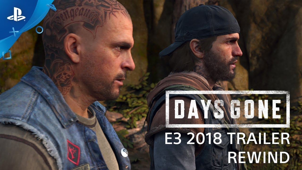 Days Gone - E3 2018 Trailer Rewind | PS4