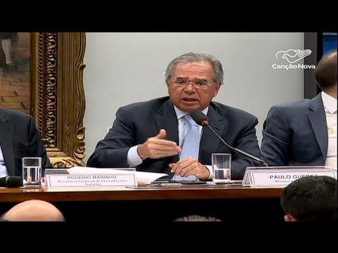 Paulo Guedes é ouvido por Comissão Especial que analisa reforma da Previdência