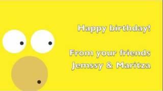 Happy birthday salsa song