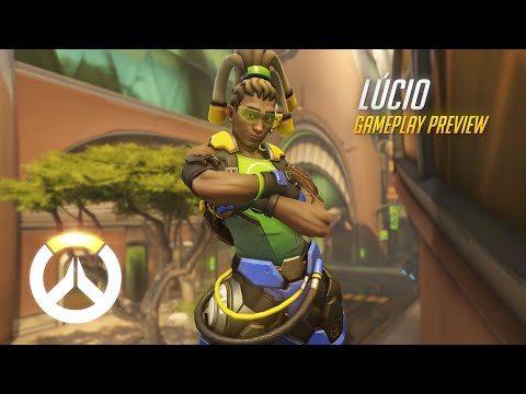 Lúcio Gameplay Preview | Overwatch | 1080p HD, 60 FPS