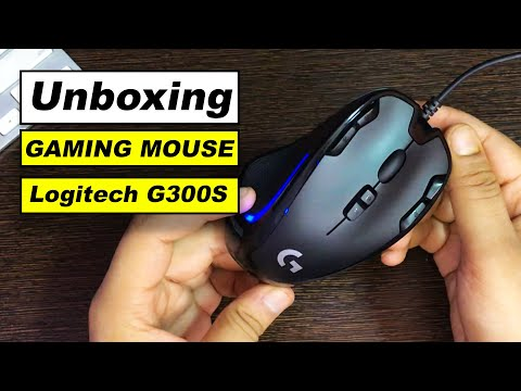 Logitech Gaming Mouse G300s Unboxing And Review