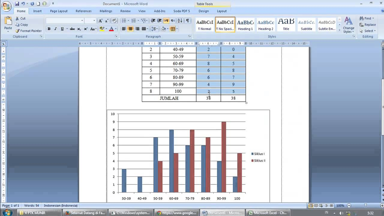 How To Easily Create Graphic Chart In Microsoft Word