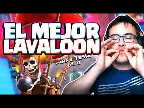 POSIBLEMENTE EL MEJOR MAZO DE LAVALOON | Clash Royale