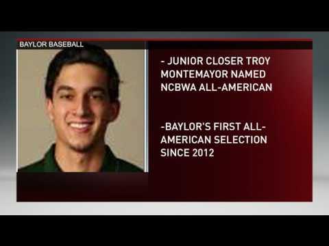 Troy Montemayor named NCBWA All-American