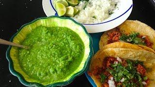 Salsa verde express fácil y muy rica