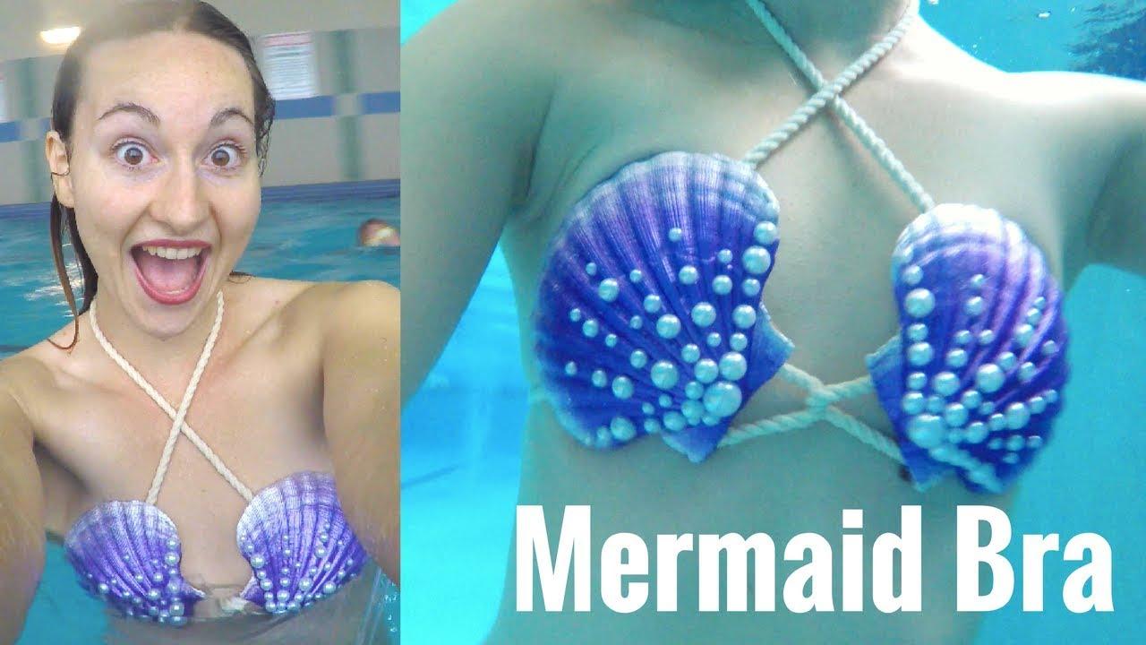 Made-to-order mermaid bra