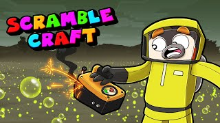 Surviving the Toxic NUCLEAR Planet! (Scramble Craft)