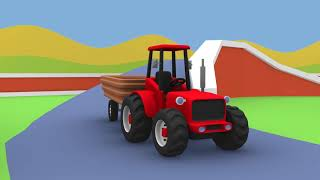 Tractor Agricultural Machinery - Fairy Tractors | Cartoons Tractors And Other Animations