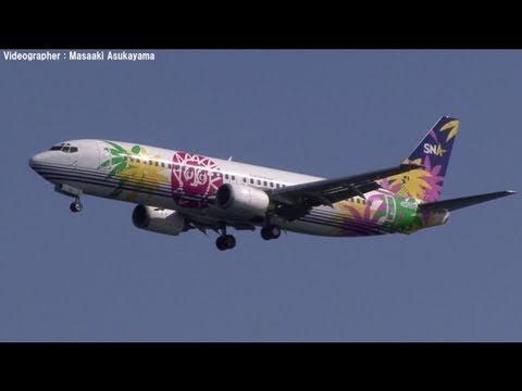 Skynet Asia Airways (SNA) Boeing 737-400 JA737G @ Haneda [20110213_1232]