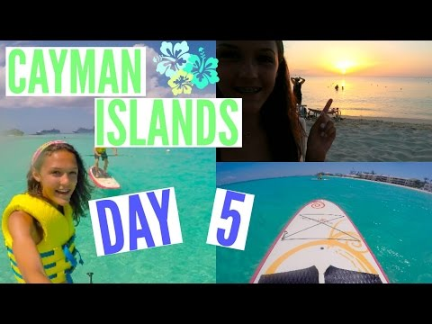 Cayman Islands Day 5 !! || PADDLE BOARDING !!