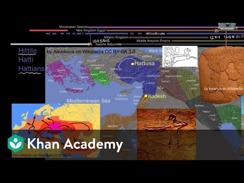 The Hittite Empire and the Battle of Kadesh | Early Civilizations | World History | Khan Academy