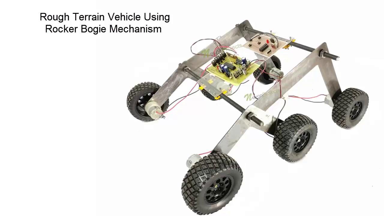 Rough Terrain Vehicle Using Ro...