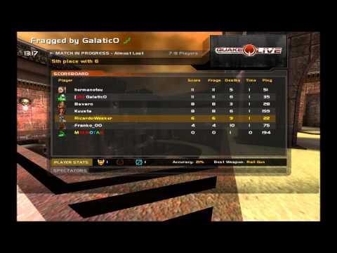 Quake 3 Arena [ Quake Live Web Browser ]