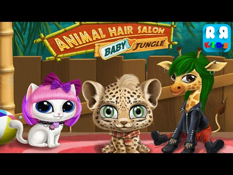 Baby Jungle Animal Hair Salon (By TutoTOONS) - Unlock All Animal - iOS / Android - Gameplay Video