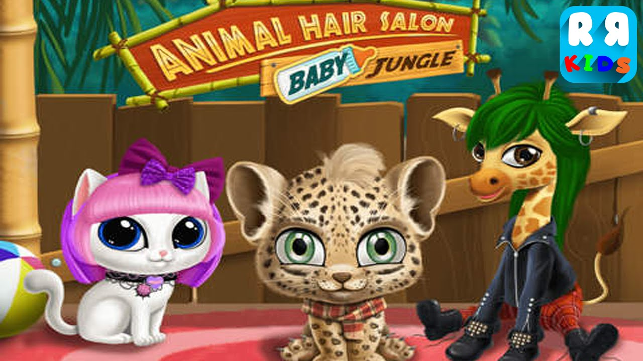 Baby Jungle Animal Hair Salon By TutoTOONS  Unlock All Animal  iOS  Android  Gameplay