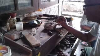 Pembuatan ring batu cincin