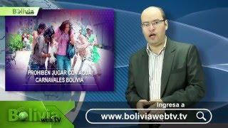 Últimas noticias de Bolivia: Bolivia News - 29 Enero 2016(http://boliviawebtv.tv Últimas noticias de Bolivia: - El Gobierno prohibió el uso del agua durante el carnaval en el país. - Los partidos de oposición se unieron ..., 2016-01-29T18:53:32.000Z)