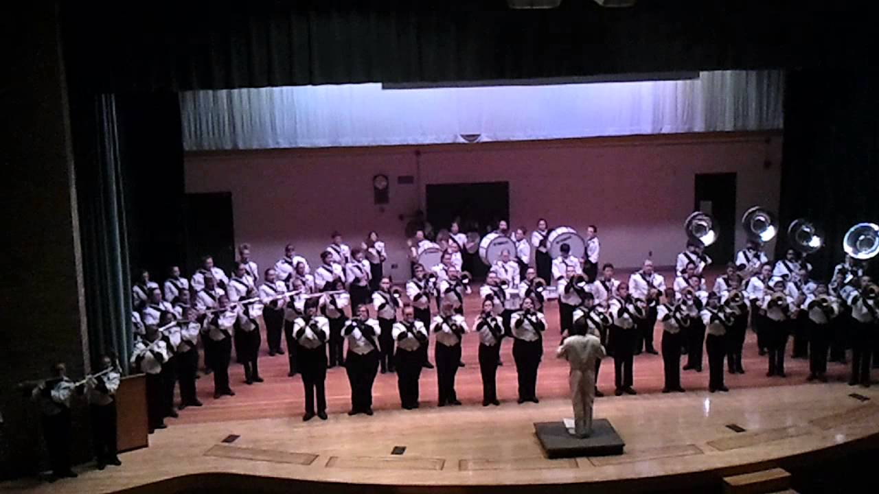 Freeze Frame AHS Marching Band o Rama 11 13 15 - YouTube