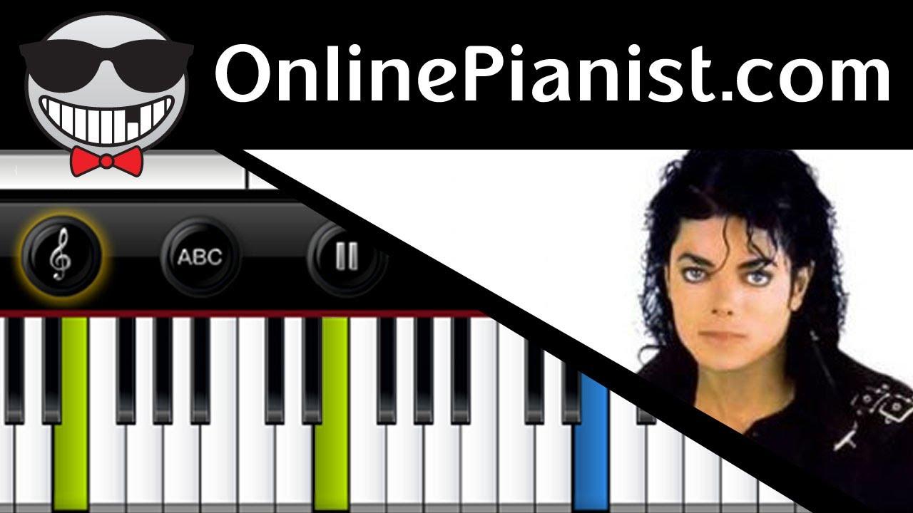 Michael Jackson - Earth Song - Piano Tutorial - YouTube