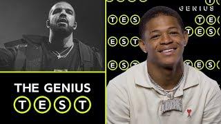 YK Osiris Takes The Drake Quiz | The Genius Test