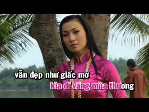 Karaoke  Đường Tình Đôi Ngã _ Song ca với Cẩm Tiên