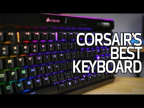 Corsair Gaming K95 RGB PLATINUM Mechanical Keyboard, Cherry MX Speed