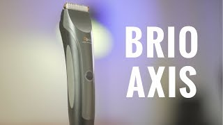 Brio has a new Beard Trimmer! | Brio Axis Unbox & Review