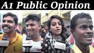 A1 Public Review santhanam Santhosh Narayanan Maalai Nera Mallipu Song